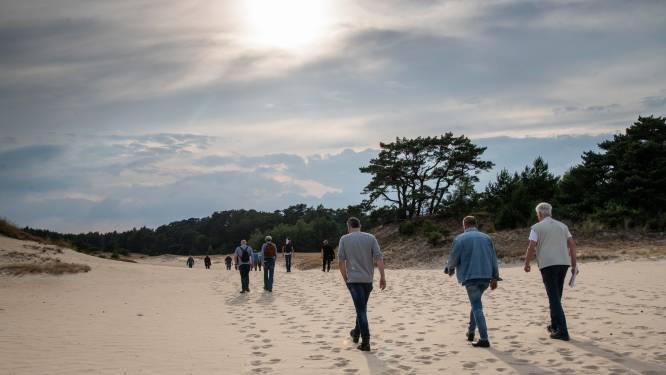 Open vlaktes Hulshorsterzand straks verboden terrein: 'Dus we mogen hier dan niet meer wandelen?'