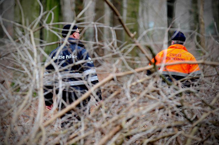 Het lichaam van Saelens werd uiteindelijk teruggevonden in het bos van onderwereldfiguur Pierre Serry in Aalter. Beeld BELGA