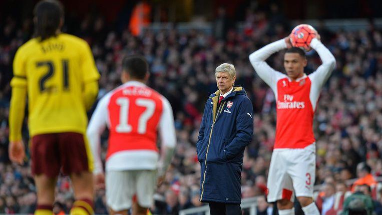 Arsenal-coach Arsène Wenger. Beeld AFP