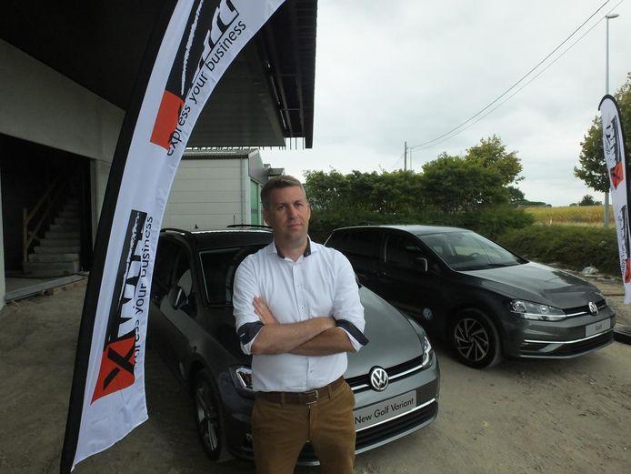 Pieter Denys, CEO van Xwift.