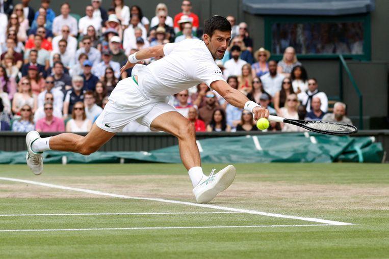 Novak Djokovic. Beeld AFP