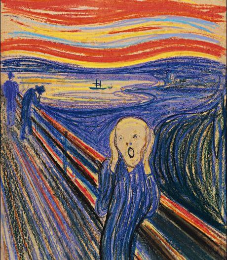 """La fin d'un mythe: le personnage du """"Cri"""" de Munch... ne crie pas"""