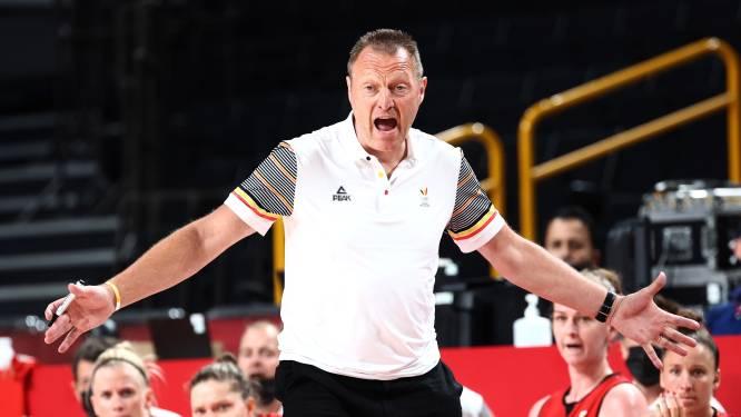 Philip Mestdagh stopt als bondscoach van Belgian Cats
