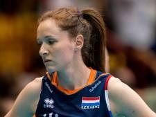 Volleybalsters in vijfsetter onderuit tegen wereldkampioen Servië