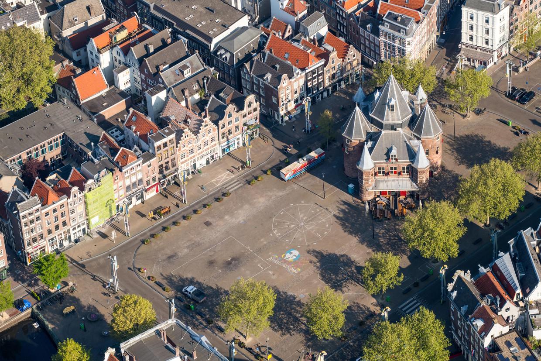 Nieuwmarkt in Amsterdam. Beeld ANP