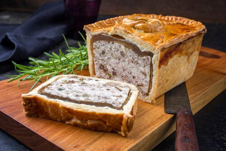 Paté en croûte. Beeld Shutterstock