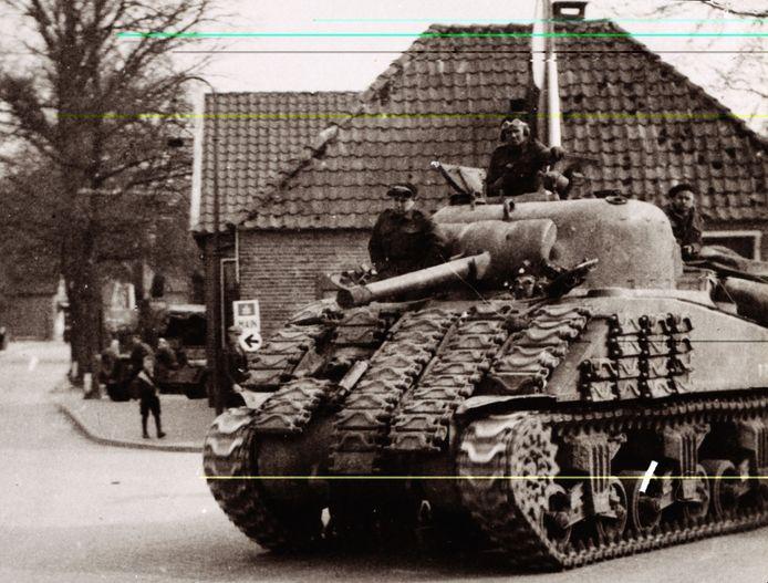 Op 10 april 1945 werd het dorp Hellendoorn door de  Canadezen bevrijd.