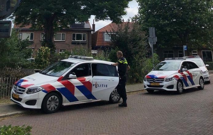 De politie wist de man toch aan te houden.