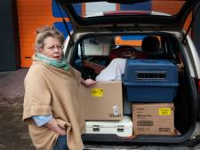 Wendy zwerft met haar dierenopvang als een soort nomade over de Heuvelrug