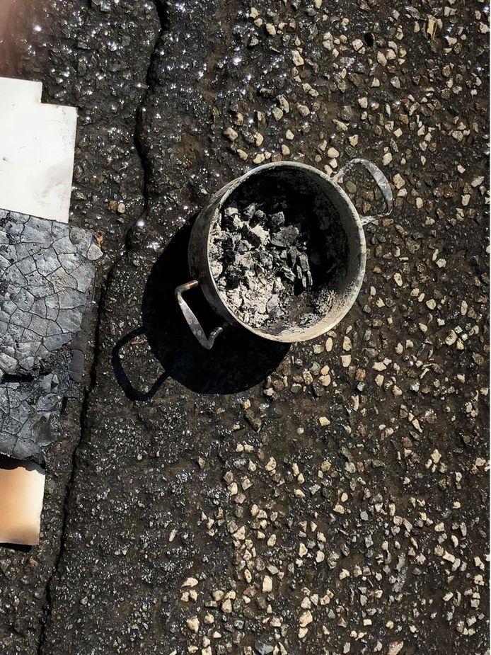 De boosdoener was een kookpot op het vuur.