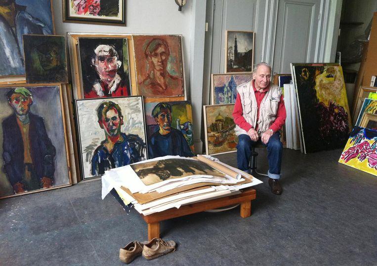 Jan Sierhuis wordt in december 90 jaar. Beeld RV