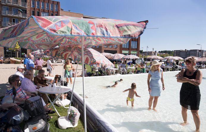 Veenendaal aan Zee was vorig jaar een succes op het Stadsstrand.