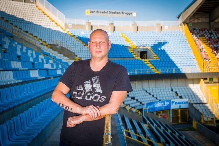 Frederik Van Eenoo: 'We zijn kampioen geworden, die ontlading moet eruit.' Beeld Simon Mouton Photo News
