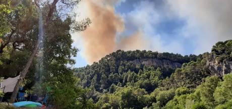 Tientallen Nederlanders in Provence geëvacueerd om bosbrand
