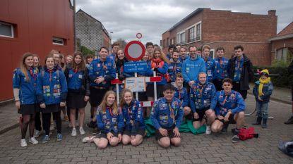 Admiraaldreef is voortaan verkeersvrije jeugdwerkstraat voor KSA Sint-Lieven