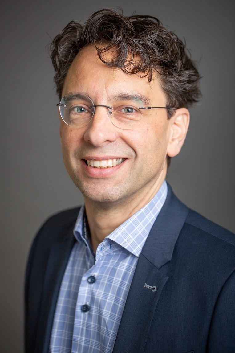 Xander Koolman. Beeld VU Amsterdam