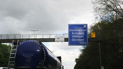 Verbindingslus E40 met Brusselse ring 's nachts 2 maanden dicht: alle verkeer via op- en afrittencomplex Sterrebeek