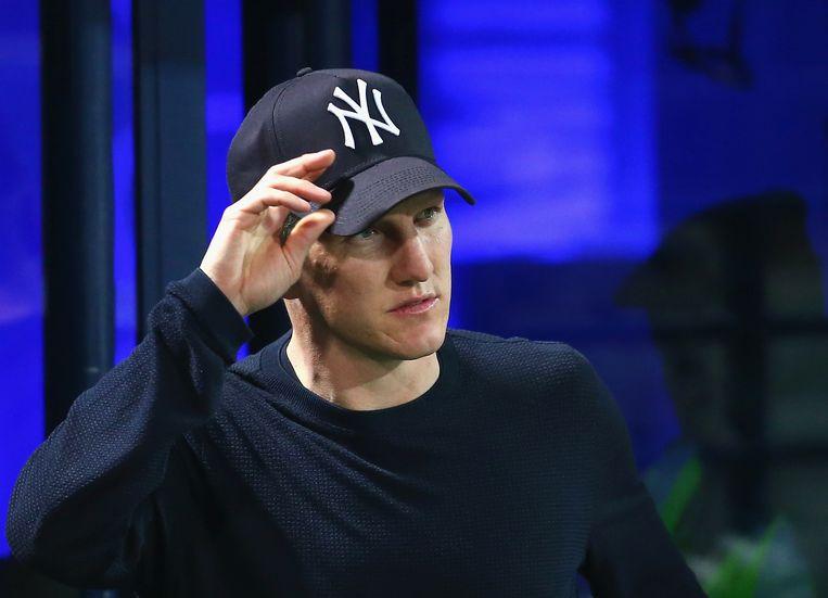 Bastian Schweinsteiger genoot volgens de Britse kranten een voorkeursbehandeling onder Van Gaal. Beeld Getty Images