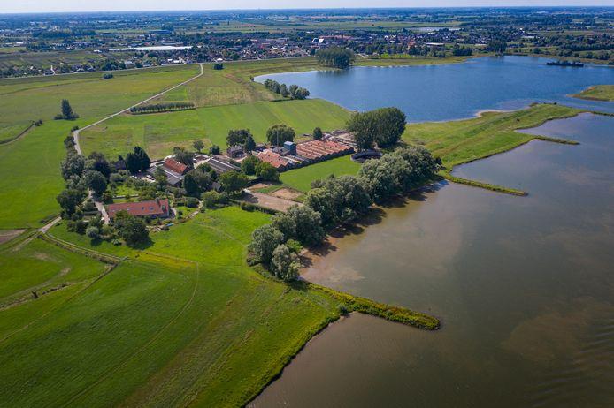 De Maneswaard, een stukje Wageningen aan de Betuwse zijde van de Rijn
