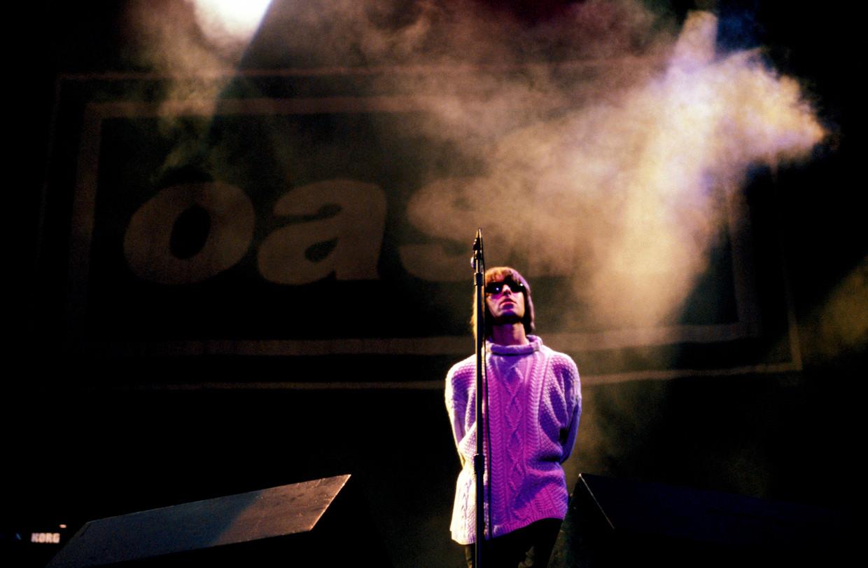 'Showboy' Liam Gallagher. Beeld
