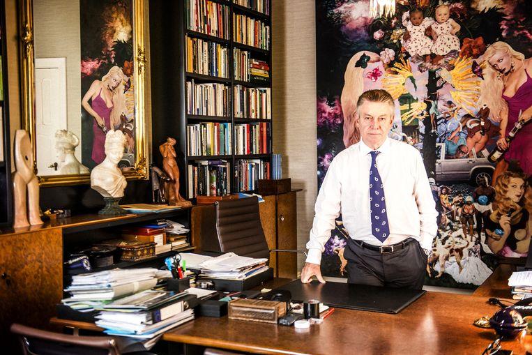 Karel De Gucht. Beeld Stefaan Temmerman