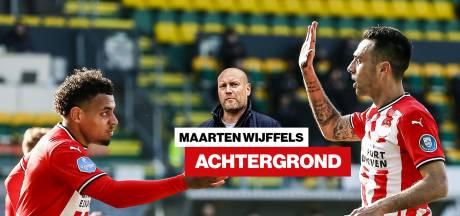 Het opvallend magere doelsaldo van PSV