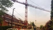 Laarstraat afgesloten voor demontage bouwkraan