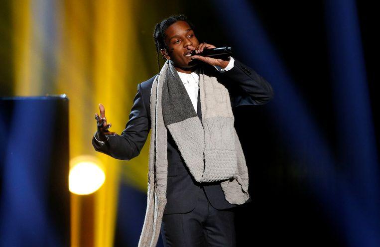 Rapper A$AP Rocky. Beeld REUTERS