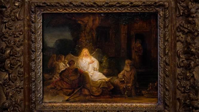 Sotheby's New York veilt Bijbels tafereel van Rembrandt en schat het op zeker 20 miljoen dollar