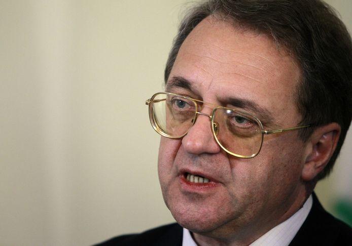 Mikhail Bogdanov est l'émissaire du président russe Vladimir Poutine pour le Moyen-Orient.