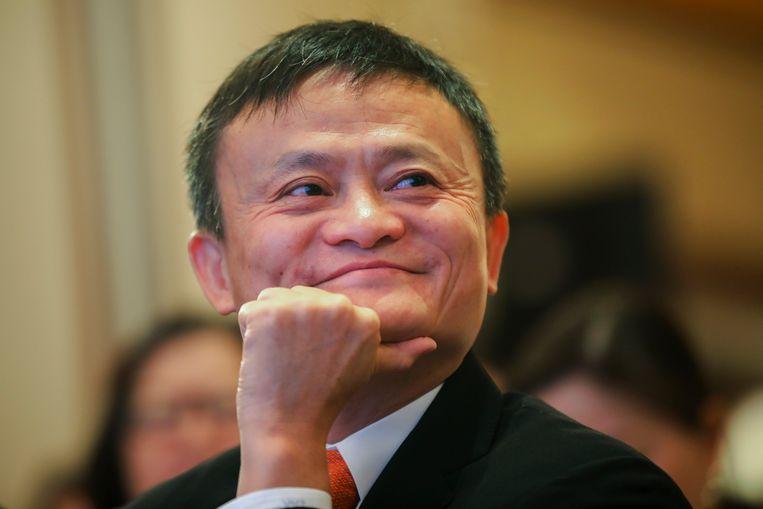 Jack Ma, de rijkste man van China. Beeld AP