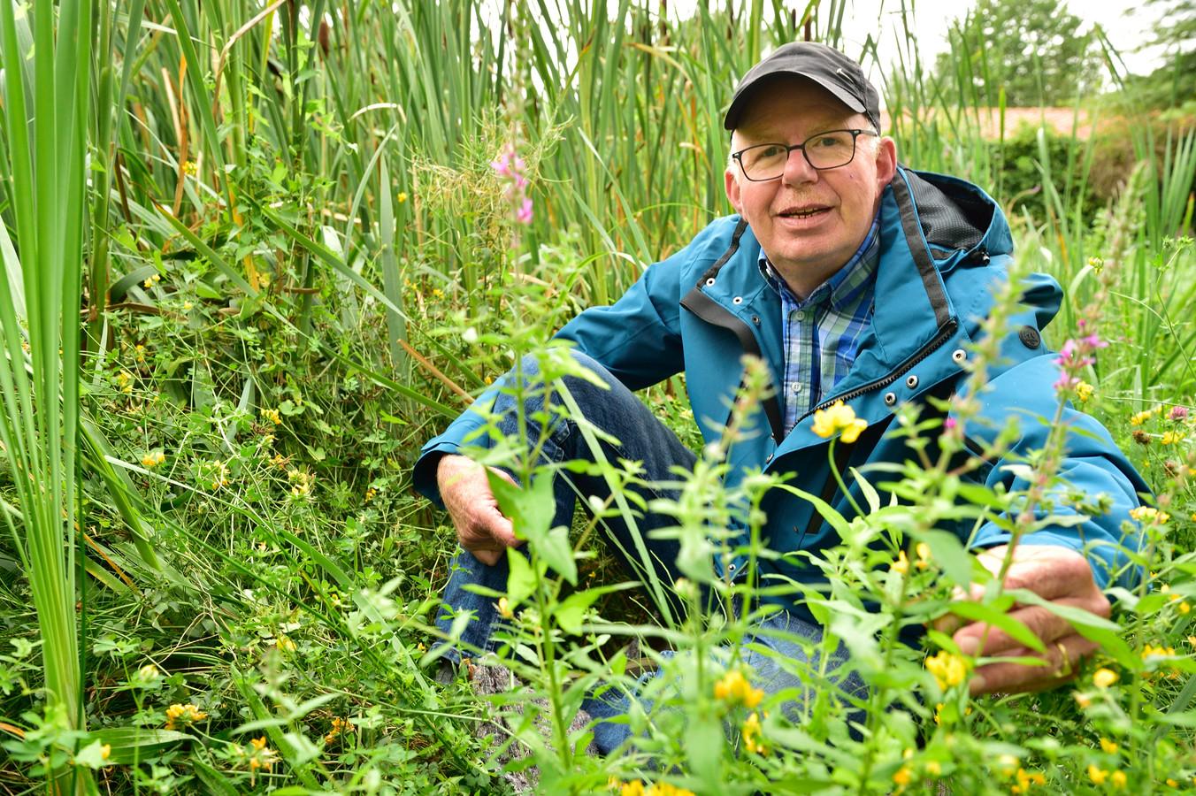 Stadsecoloog André van Kleinwee (61) uit Woerden is uitgeroepen tot 'bovenstebeste bermbeheerder' van 2020.