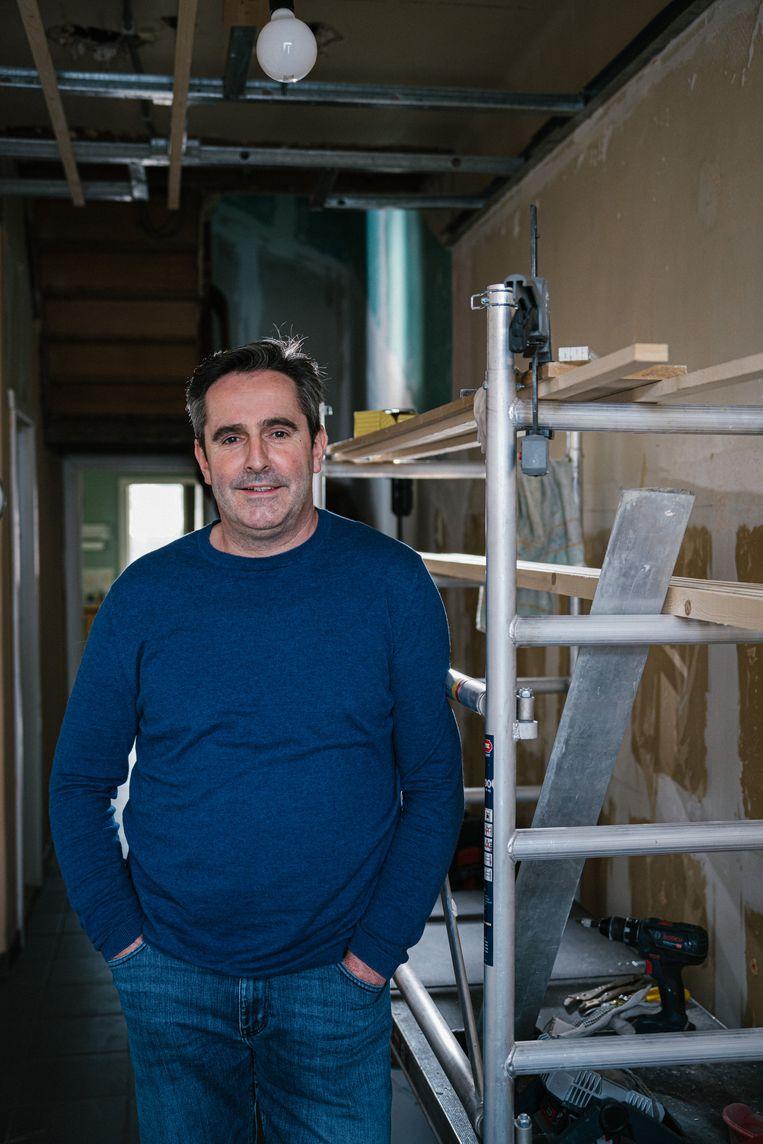 Eddy Jespers, bakker bij Makro. Beeld Wouter Van Vooren