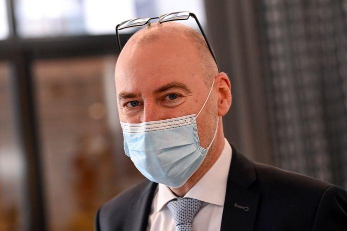 Dirk Ramaekers, hoofd van de taskforce voor de vaccinatiestrategie.