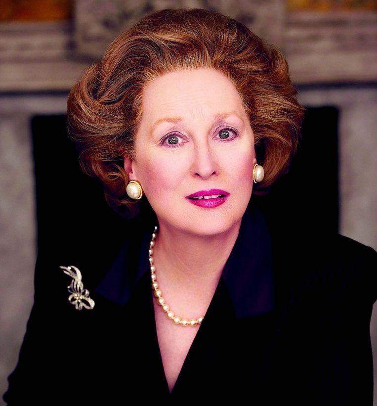 Meryl Streep als Margaret Thatcher in 'The Iron Lady' (2011). Beeld