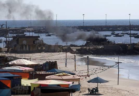 Bij een aanval op een strand in Gaza kwamen vier kinderen om het leven.