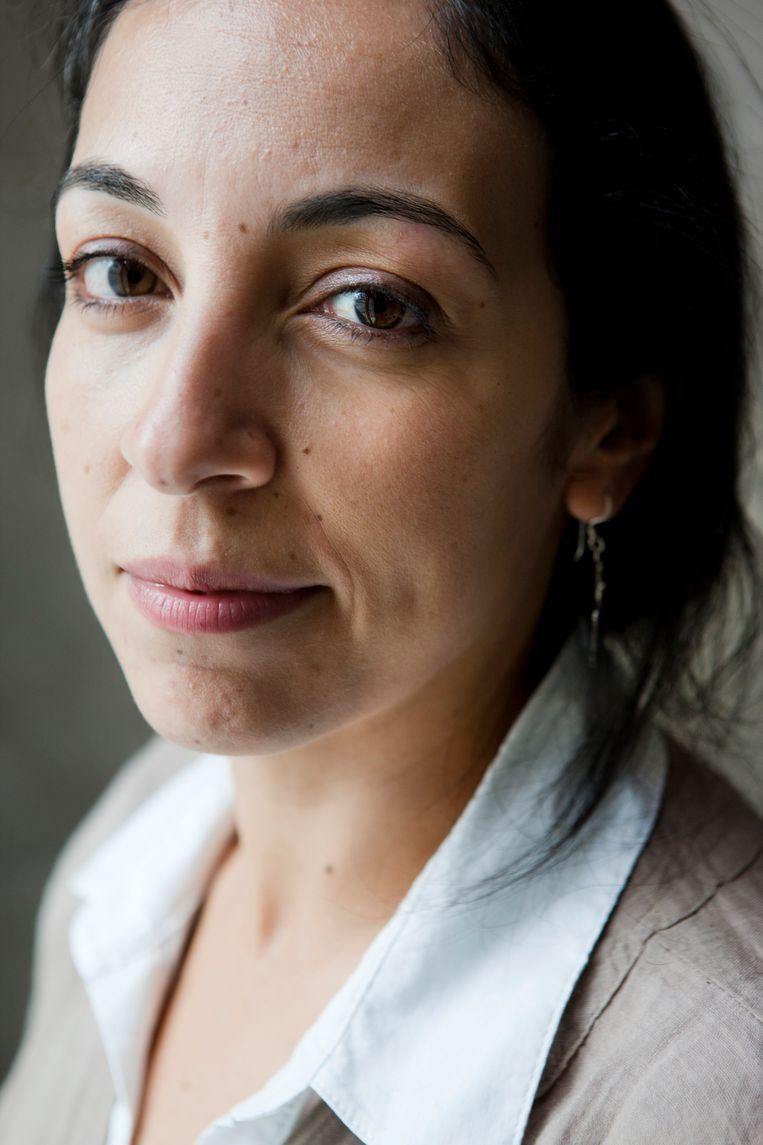 Rachida Lamrabet. Beeld koen broos