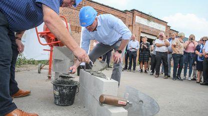 Na tien jaar: bouw Uyttenhove is eindelijk begonnen