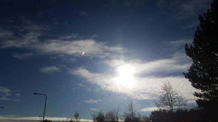 UFO meldingen in België Beeld Belgisch UFO meldpunt