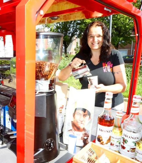 Petra drinkt tot tien koppen koffie per dag, maar niet uit een automaat: 'Dan liever thee'