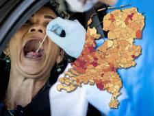 Coronakaart toont veel meer ziekenhuisopnames en zeven sterfgevallen in de regio: bekijk hier hoe het zit