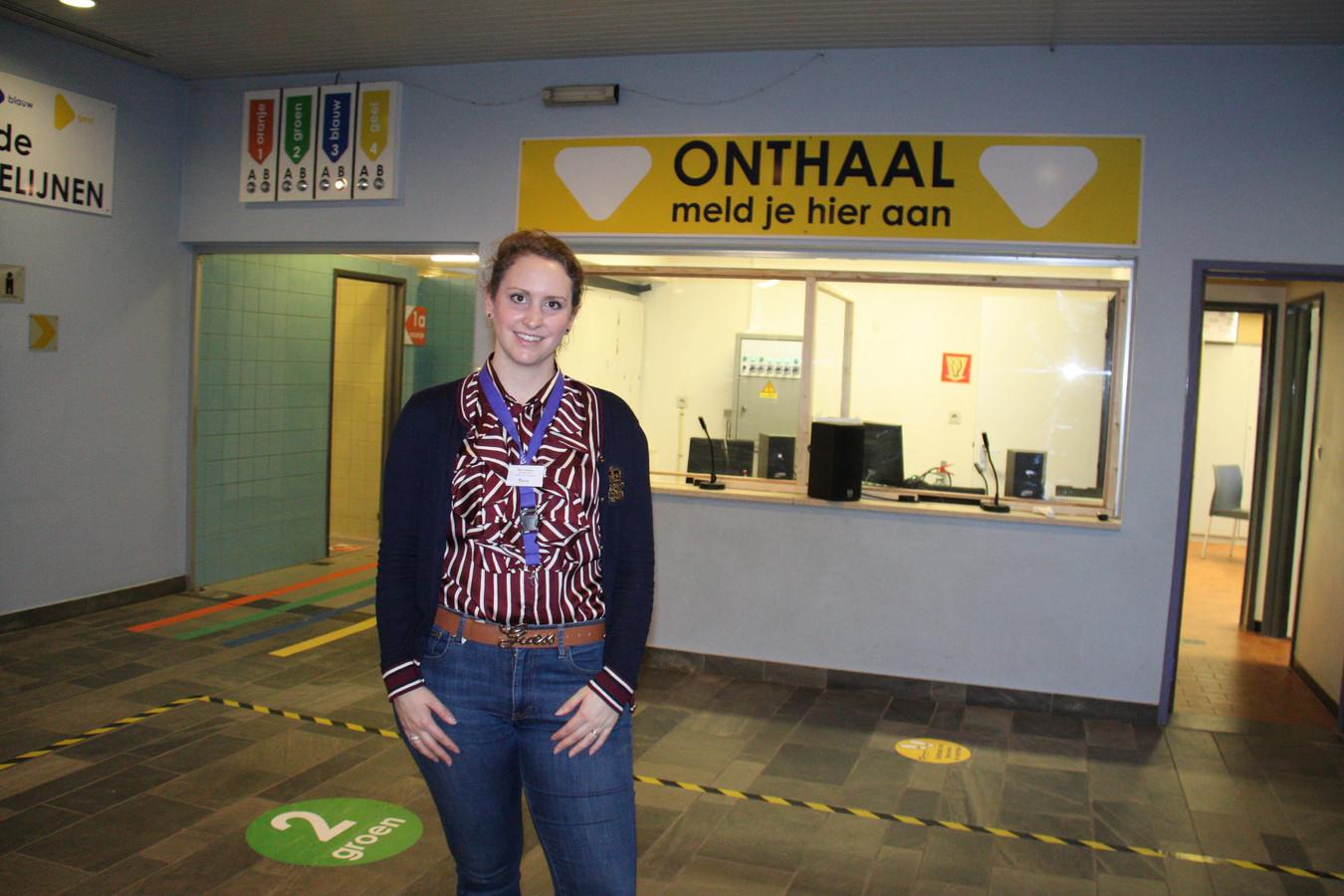 Coördinator van het Diksmuidse vaccinatiecentrum Bieke Vanslembrouck