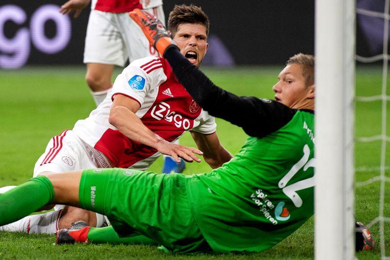 Huntelaar in actie voor Ajax. Beeld ANP