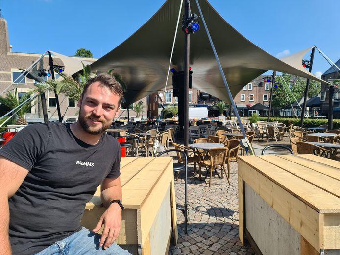 Thomas de Groot van jongerencafé De Sok in Schijndel.