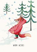 Kerstkaart van Katja Kaduk.