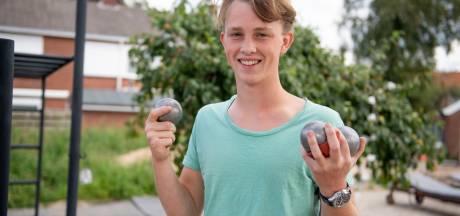 Koen (17) uit Almelo is Europees kampioen, in petanque nog wel
