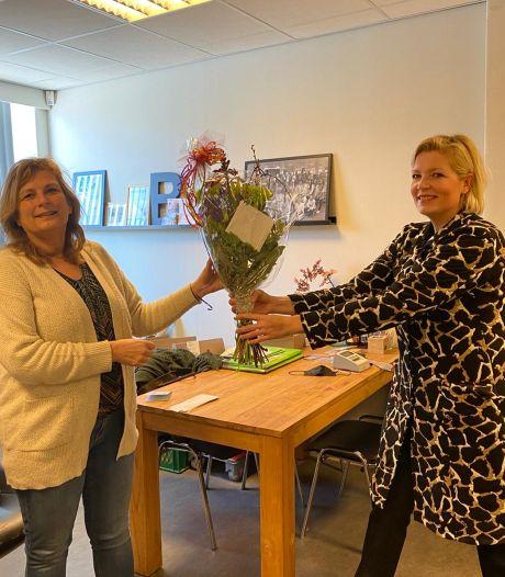 CDA Losser zet lokale helden in het zonnetje met een Valentijnsboeket