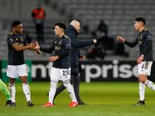 Ten Hag geniet van spel en mentaliteit Ajax: 'De jongens hebben winnaarsdrang en geven nooit op'