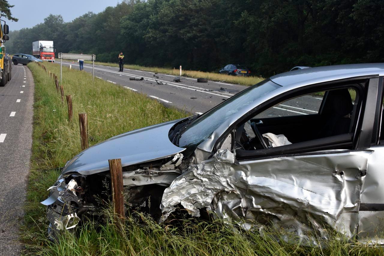Een ongeluk op een rechte weg moet over een paar jaar tot het verleden behoren.