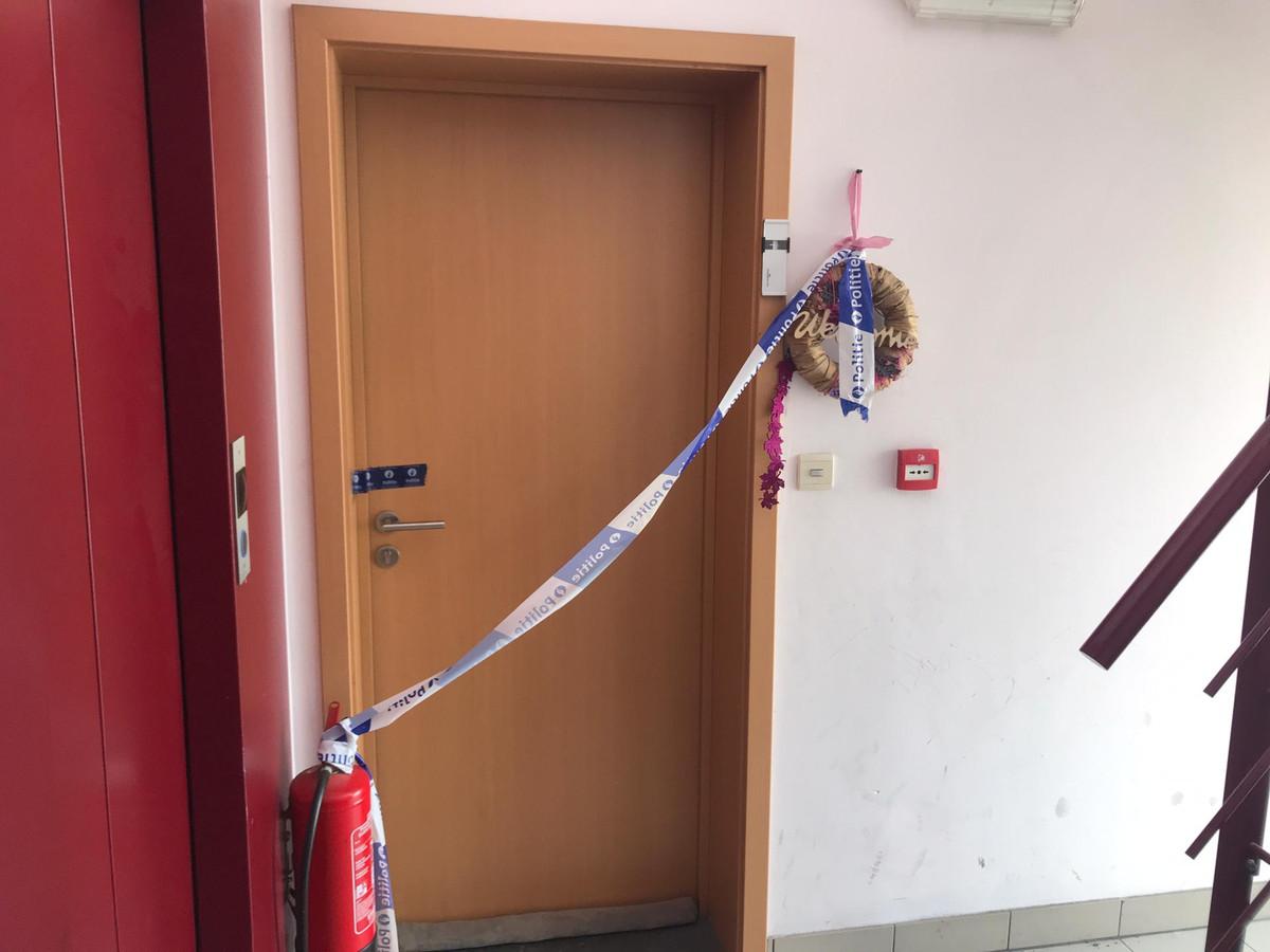 L'appartement où le corps de l'enfant à été découvert.